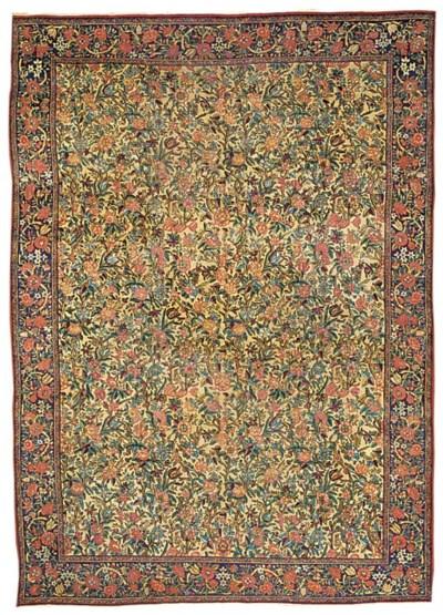 A Kirman Laver carpet, South P