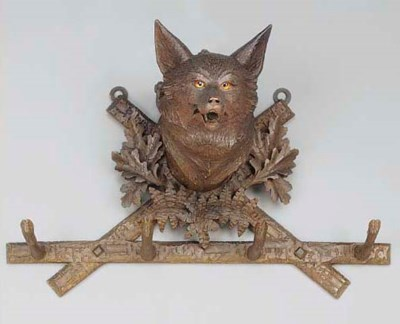 An Austrian or Swiss carved wo