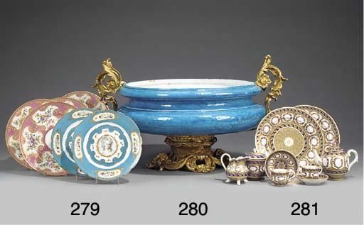 A Sevres-pattern porcelain par
