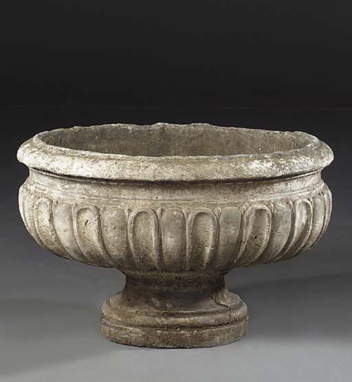 An English sculpted stone cist