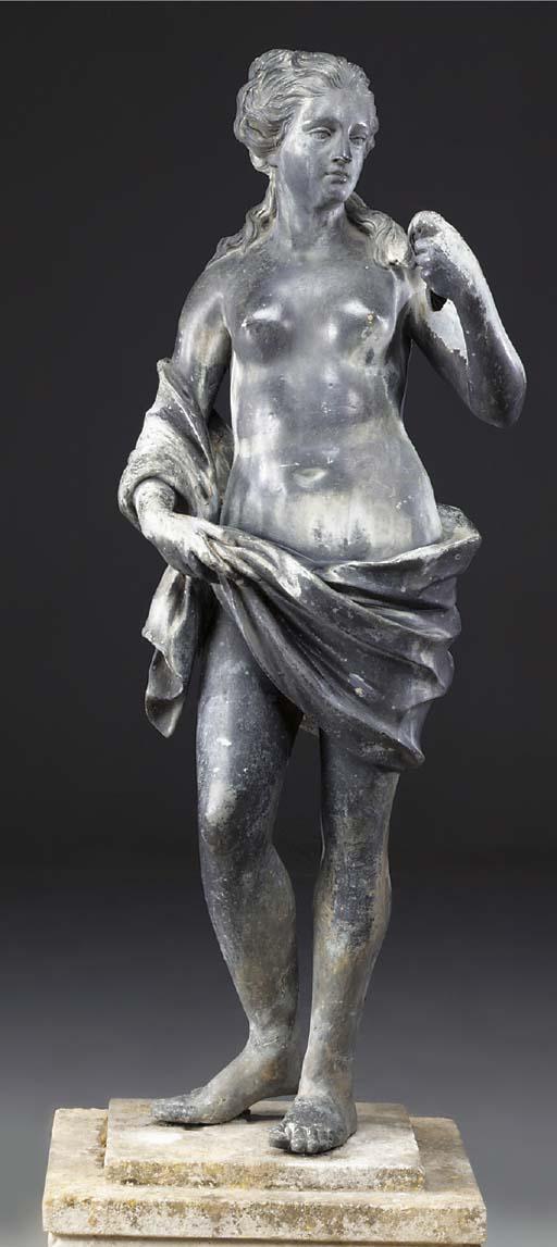 An English lead figure of Venu