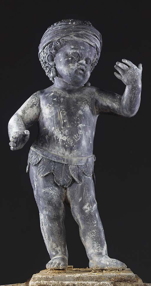 An English lead figure of a ch