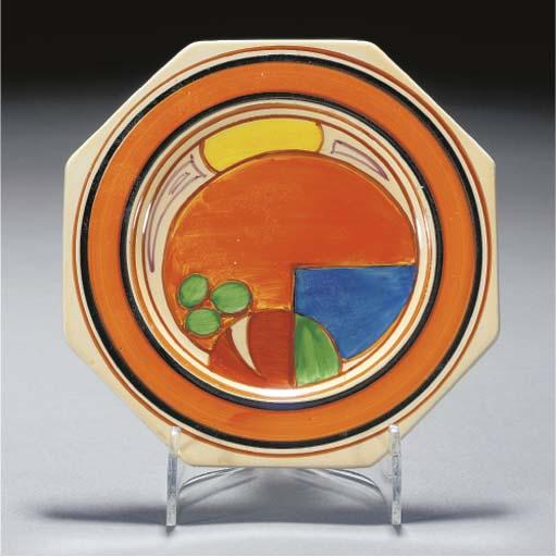 A Melon Octagonal Plate