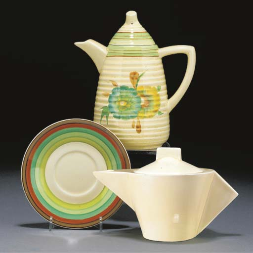 A Conical Teapot