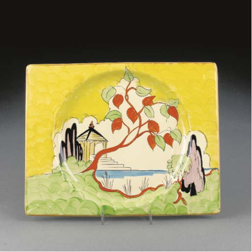 A Japan Biarritz Plate