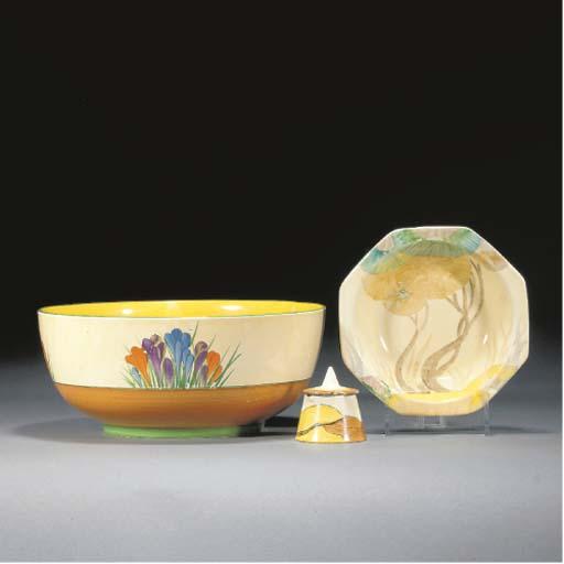A Crocus Holborn Bowl