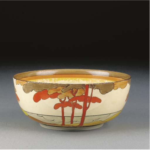 A Coral Firs Holborn Bowl