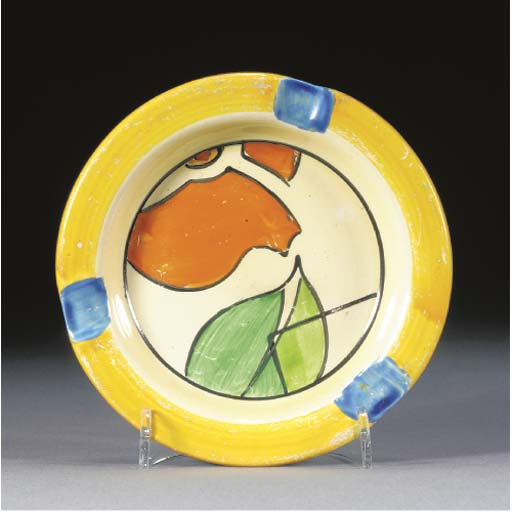 An Orange Propeller Ashtray