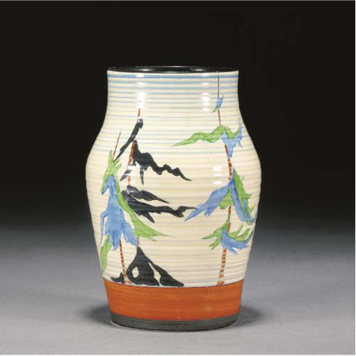 A PINEGROVE ISIS VASE