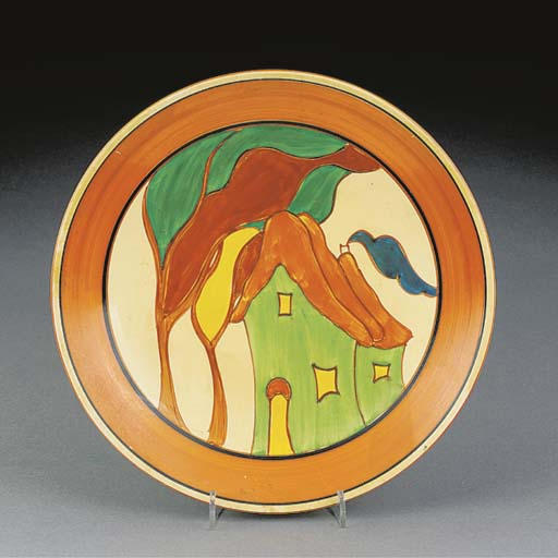 A GREEN HOUSE PLATE