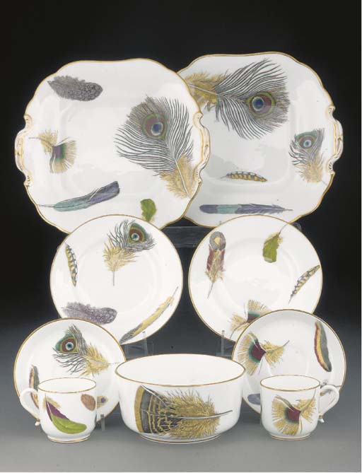 A Minton part tea-service