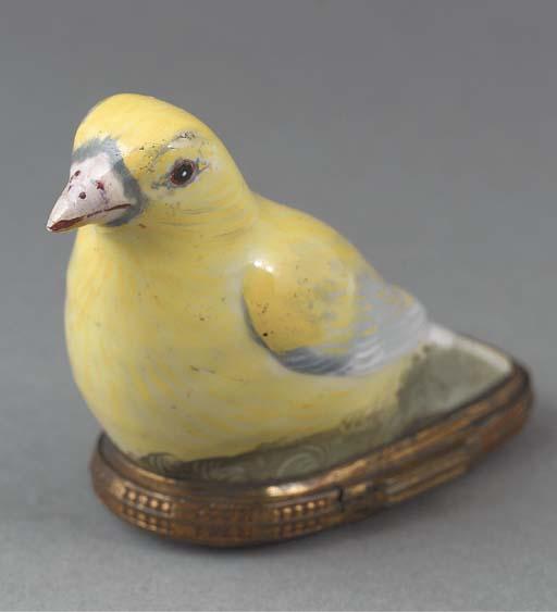A gilt-metal mounted enamelled