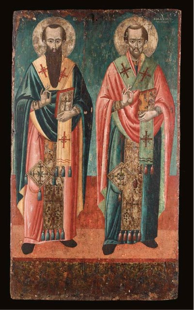 Saints Basil the Great and Joh