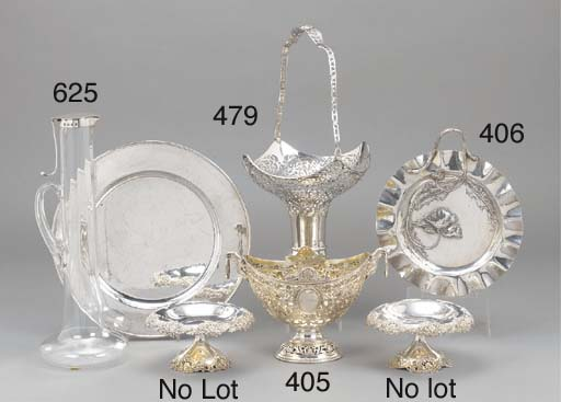 A continental silver basket