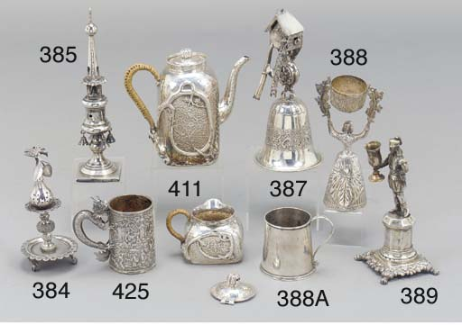 AN AMERICAN SILVER PLATE