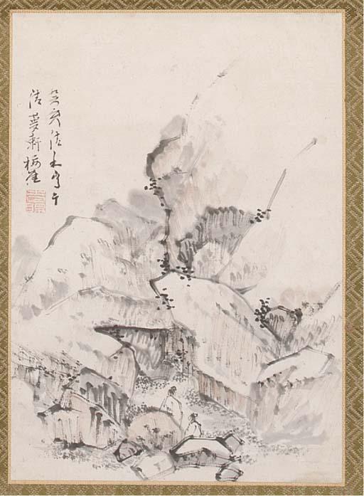 Totoki Baigai (1749-1804), a h