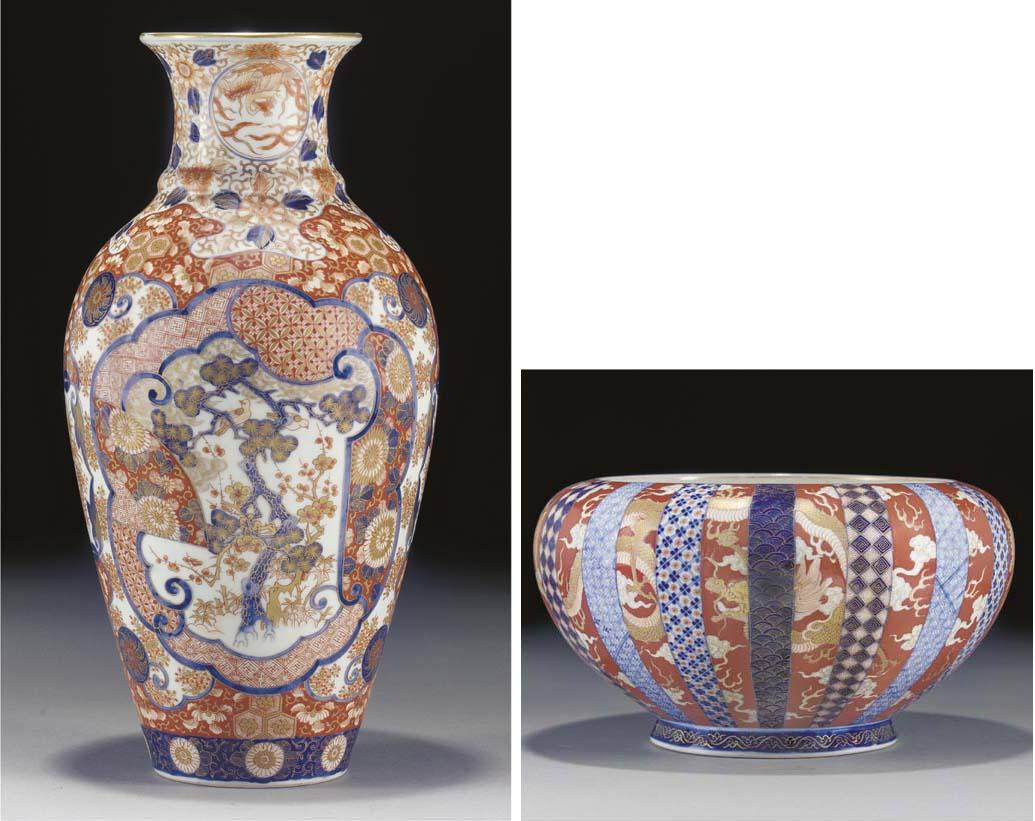 A Fukugawa globular bowl, 19th