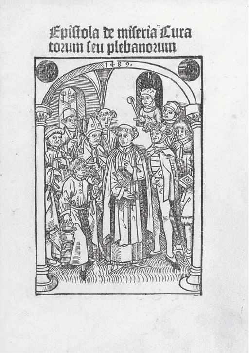 Epistola de miseria curatorum. [Leipzig: Konrad Kachelofen, c.1489.]