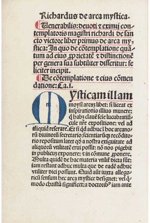 RICARDUS DE SANCTO VICTORE (d.