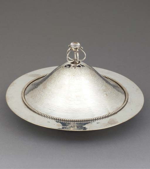 An Electroplated Muffin Dish a