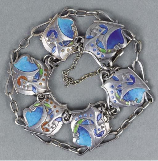 A White Metal Bracelet