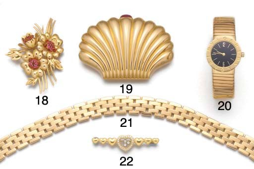 A Van Cleef & Arpels gold and