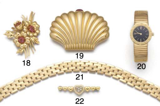 A Bulgari tubogas bracelet wat