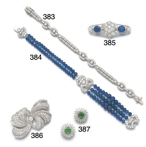 Three Cartier diamond and bagu