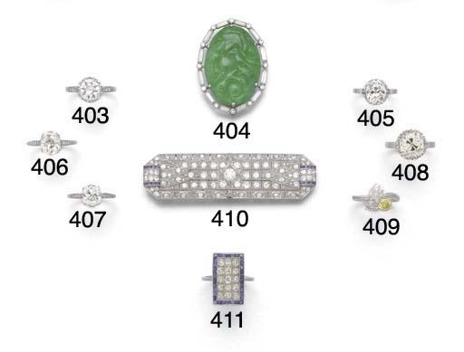 An old-brilliant-cut diamond s