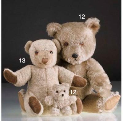 An Invicta musical teddy bear