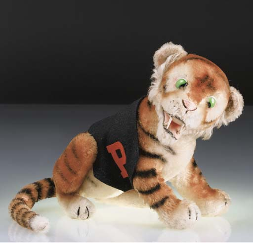 A rare Steiff Princeton Tiger
