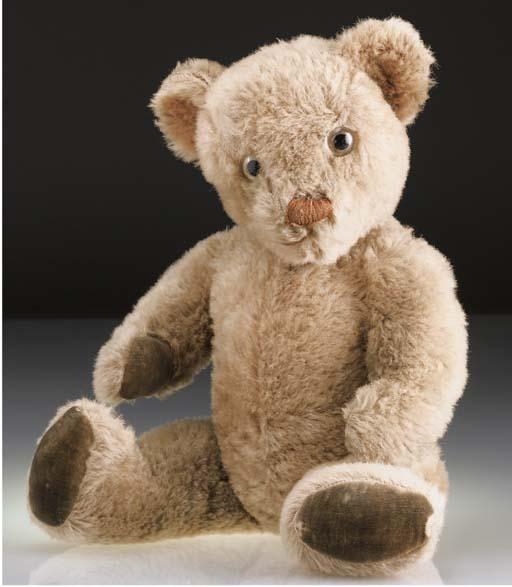An Invicta teddy bear