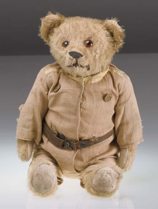 A rare Ideal teddy bear Rough