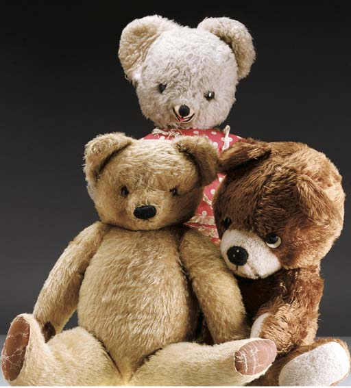 'Fred', a Chad Valley teddy be