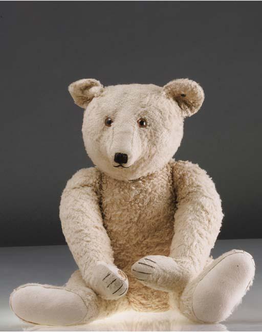 A Steiff 1940s teddy bear