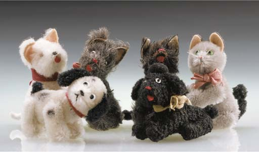 Schuco Noah's Ark Dogs and Cat