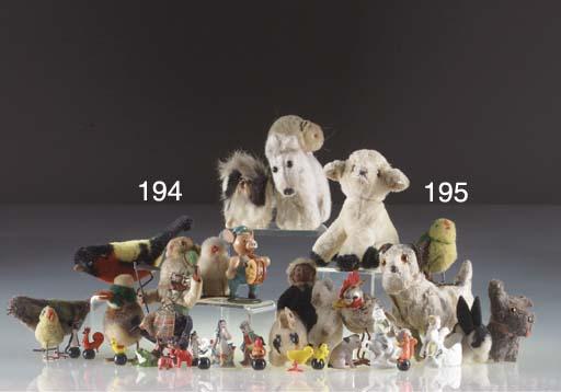 Steiff 1930s pom-pom animals