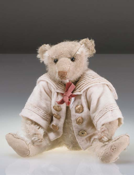 A Steiff teddy bear