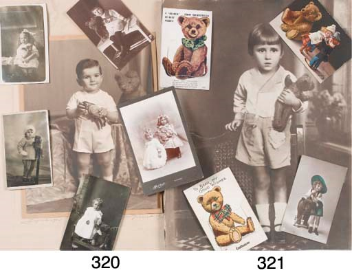 Three large portrait photograp