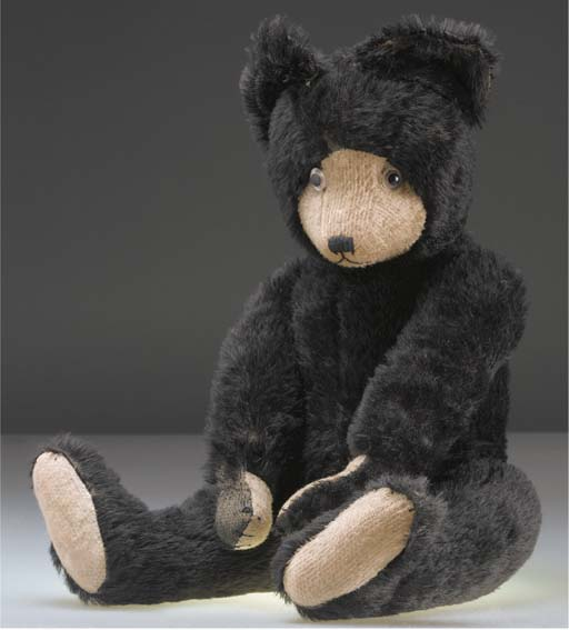 An unusal French teddy bear