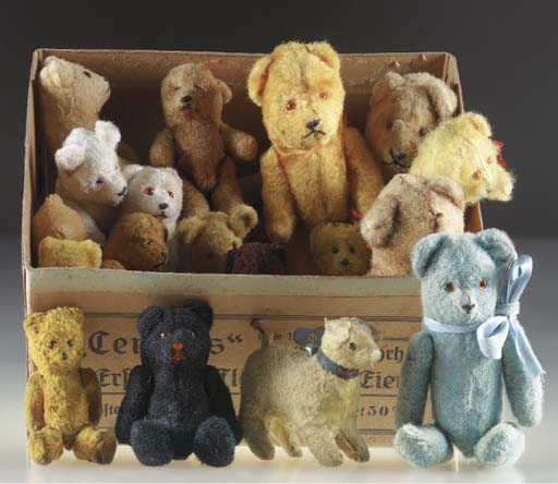 A box of teddy bears