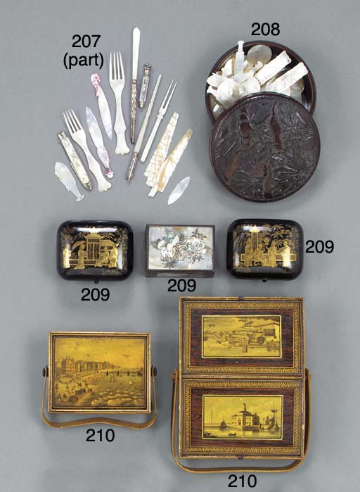 A Regency souvenir-ware work b