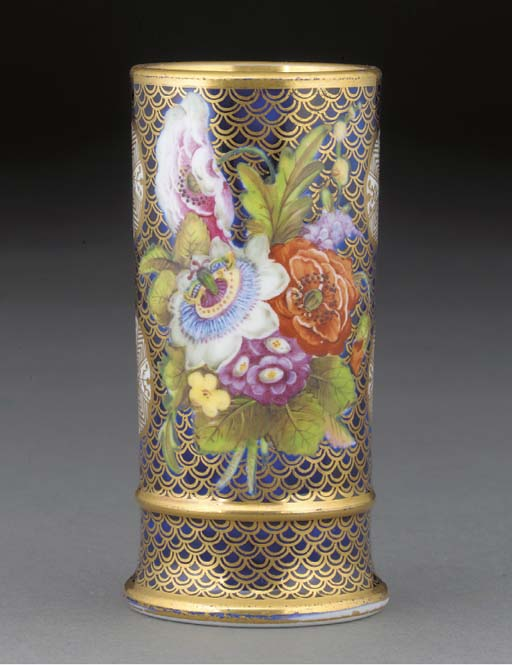 A Spode 1166 pattern cylindric