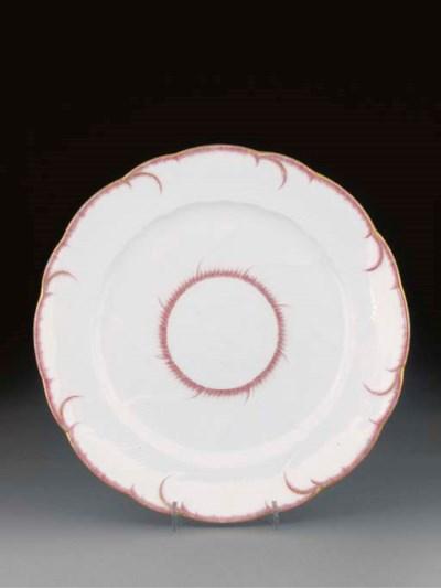 A Vincennes plate (Assiette Ga