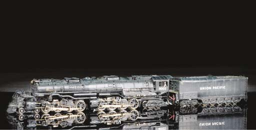 Japanese brass HO Steam Locomo