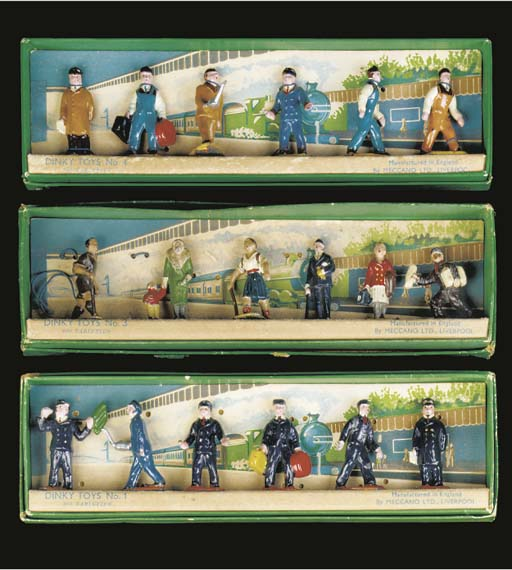 Early Station Figures