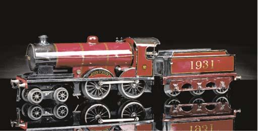 Bassett-Lowke Locomotive and C