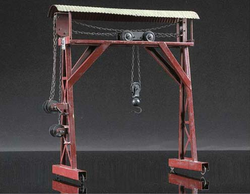 A Bing Travelling Gantry Hoist