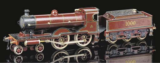 A Bing spirit-fired 4-4-0 MR C