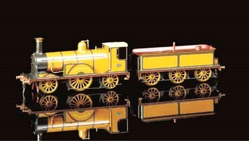 A scratch-built three-rail ele